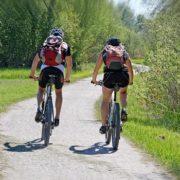 Radfahren für Fitness bei jedem Wetter