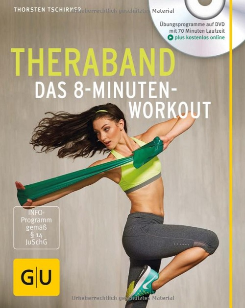 Buch Theraband Das 8-Minuten-Workout