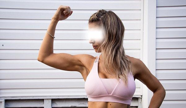 Übungen zum Abnehmen der Arme und des Rückens bei Frauen