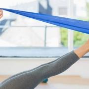 Trainingsbeispiele mit dem Fitnessband