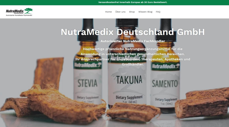 NutraMedix bietet viele verschiedene pflanzliche Nahrungsergänzungsmittel